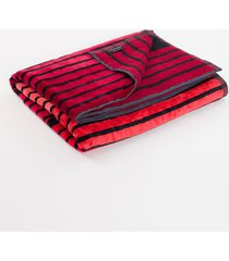 toalha ckj listras - vermelho - u