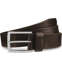 men's allen edmonds radiant avenue leather belt, size 42 - dark brown
