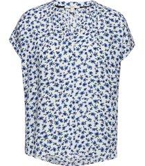 blouses woven blouses short-sleeved vit esprit casual