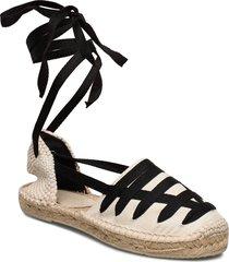 alaia espadrilles sandaletter expadrilles låga svart by malina