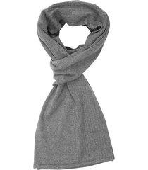 bufanda tejida mixto acanalado liso en algodón para hombre 05225