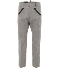 dsquared2 houndstooth trousers