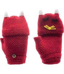 guantes rafael rojo topsoc