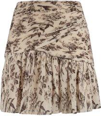 zimmermann pleated mini skirt
