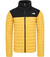 gele heren jas the north face stretch down jacket - nfoa3y56lt01
