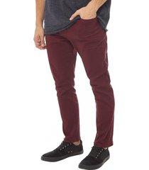 jeans color skinny rojo corona