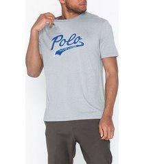polo ralph lauren short sleeve t-shirt t-shirts & linnen grey