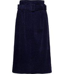new penelope skirt lång kjol blå norr