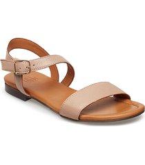 sandals 8714 shoes summer shoes flat sandals beige billi bi