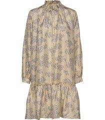 cheyenne dress korte jurk beige lovechild 1979