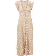 klänning onlbecca button midi dress wvn