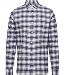 alberto 5041 overhemd casual blauw nn07