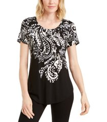jm collection plus size scoop-neckline top, created for macy's