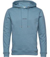 lens hoodie hoodie trui blauw les deux