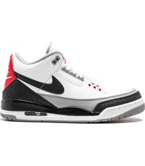 "jordan air jordan 3 retro ""tinker hatfield"" sneakers - white"