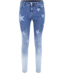 stella mccartney dégradé skinny jeans