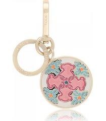 llavero mossaic colors en color azul-rosa
