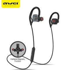 audífonos bluetooth, a630bl auriculares inalámbricos audifonos bluetooth manos libres  auriculares magnéticos con micrófono (negro)