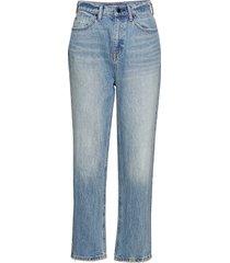 bluff hw classic jean - mid blue indigo raka jeans blå t by alexander wang