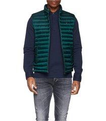 chaleco verde tommy hilfiger lw packable down vest