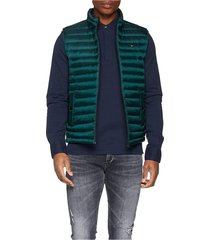 chaleco verde tommy hilfiger lw packable down vest