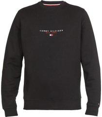 tommy hilfiger cotton logo sweatshirt