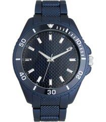 i.n.c. men's blue bracelet watch 36mm, created for macy's