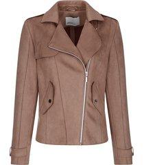 jas dress in bruin