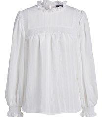 blouse met pofmouwen jain  wit