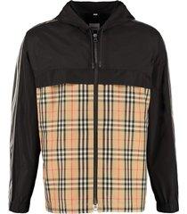 burberry hooded taffeta jacket