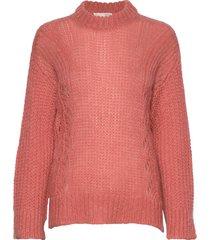 comfort over d sweater gebreide trui roze odd molly