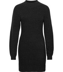 anf womens dresses knälång klänning svart abercrombie & fitch