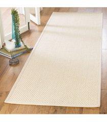 """safavieh natural fiber ivory and light beige 2'6"""" x 8' sisal weave runner area rug"""