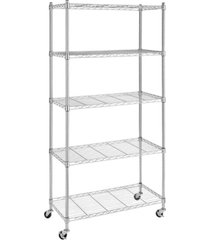 whitmor supreme 5-tier rolling cart