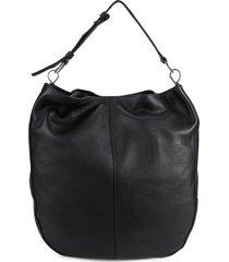 vince camuto women's aisha leather hobo bag - bitten