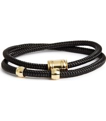 men's miansai double wrap rope bracelet