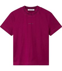 t-shirt logo rood