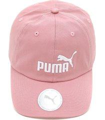 boné puma ess cap rosa