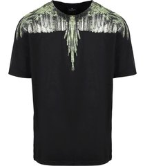 marcelo burlon wood wings printered t-shirt