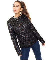chaqueta negra kaba line tenerife