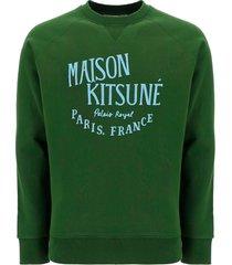 maison kitsuné kitsuné sweatshirt