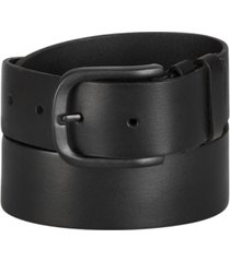 frye and co men's double-keeper leather belt