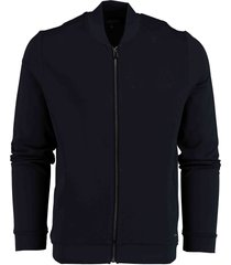 bos bright blue glenn sweat vest structure 21112gl01bo/290 navy