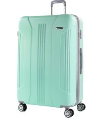 denali s 30 in. anti-theft tsa expandable spinner suitcase