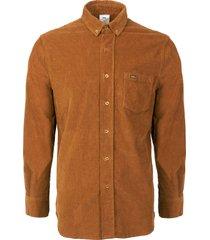 lois jeans thomas corduroy overshirt - tobacco 1115-88