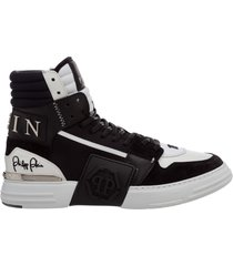 scarpe sneakers alte uomo in pelle phantom kicks