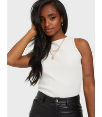 missguided ribbed high neck racer body bodys