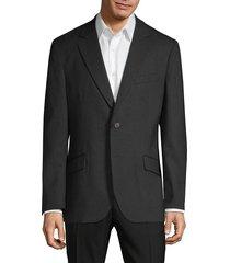 tailorbyrd men's standard-fit textured blazer - green - size 42 l