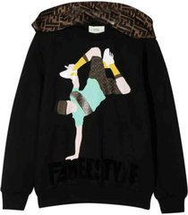fendi sweatshirt with print