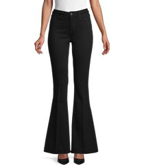 l'agence women's sophie high-rise flare jeans - noir - size 26 (2-4)